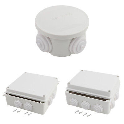 Outdoor Waterproof Enclosure Shell Electrical Power Device Junction Box Case Com