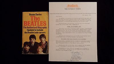 The Beatles ✴1968  letter to fanclub members from The Sunday Times ✴ & book 1979