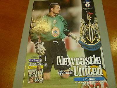 Newcastle v Everton 97/98