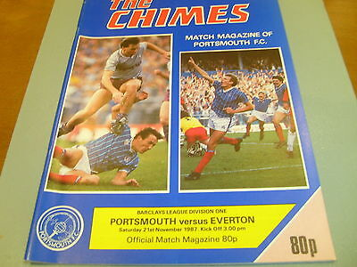 Portsmouth v Everton 87/88