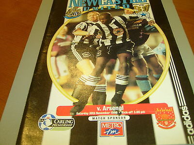 Newcastle v Arsenal 96/97