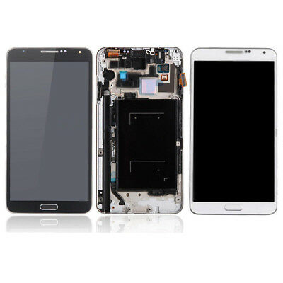 For Samsung Galaxy Note 3 Verizon Sprint N900V N900P LCD Touch Screen Frame USA