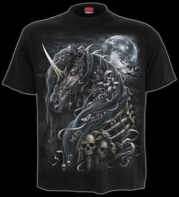 T SHIRT HORROR CLOWN Jack In The Box Spiral Gothic