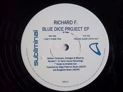 """RICHARD F The Blue Dice Project EP 2x 12"""""""