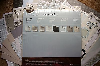 Creative Memories Wishes & Dreams 12x12 Kit Scrapbook/Paper memories wish dream