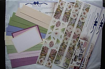 Creative Memories TTY  Potpourrie Accent & Border Stickers & Flower Bud Borders