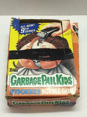 Garbage Pail Kids series 9 Box with 36 unopened packs 1980's