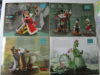 WDCC Set with 4 booklets / Hefte from 2008  Walt Disney