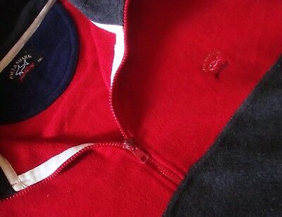 SWEATER Pile vintage PAUL & SHARK Yachting TG.2XL made in Italy