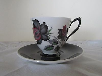 VINTAGE 1950/1960's ROYAL ALBERT 'MASQUERADE' COFFEE CUP & SAUCER - 7 AVAILABLE