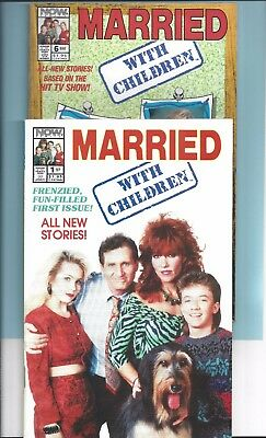 Married... With Children #1 & 6  (1991, Now) NM