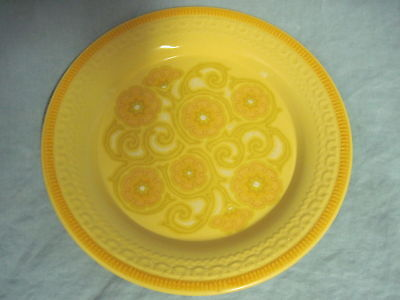 Beautiful Franciscan YELLOW FLORAL DINNER PLATE