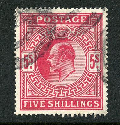 Great Britain 1902-11 5/ Used #140