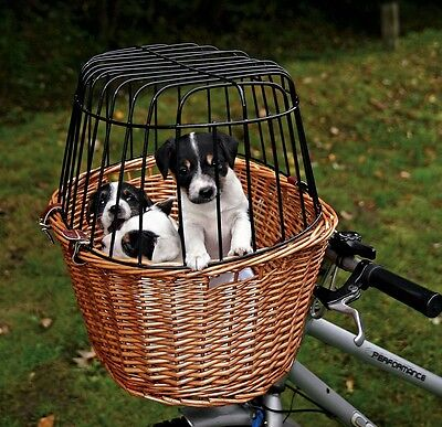 Trixie Front Bicycle/Bike  Carrier Box Transport Travel Tan  For Dog / Puppy  06