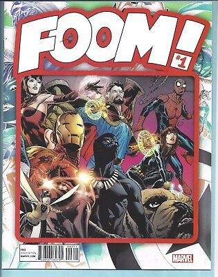 Foom! #1 Marvel Magazine Nm New 36 Pages