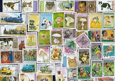 100 All Different French Guinea Republic  Stamps