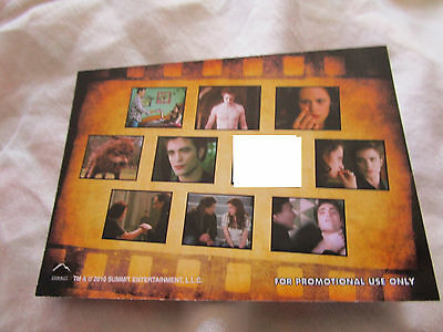 Twilight New Moon Memorable Moments Series1 Set only 10 cards Robert Pattinson
