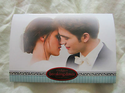Twilight Breaking Dawn Part1 Wedding Album complete+Sepia Card Robert Pattinson