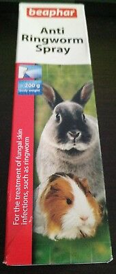 Beaphar Anti Ringworm Fungal Spray for Rabbits Guinea Pigs & Rodents - 50ml