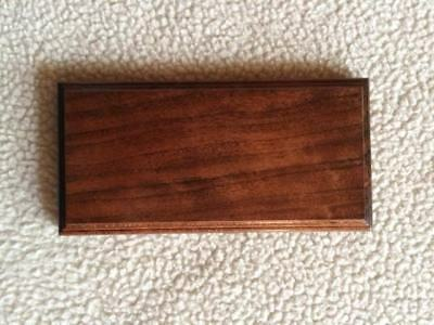 Solid Black Cherry Wood Base For Morse Code/telegraph Key