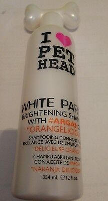 I Love Pet Head White Party Brightening Shampoo - Orangelicious - 354ml