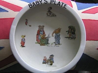 """Vintage """"Baby's Plate"""""""