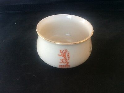 Glasgow Scottish 1938 Empire Exhibition WH GOSS Trinket Bowl Floral Pattern 7