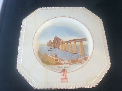 Glasgow Scottish 1938 Empire Exhibition WH GOSS Plate Forth Bridge Scotland