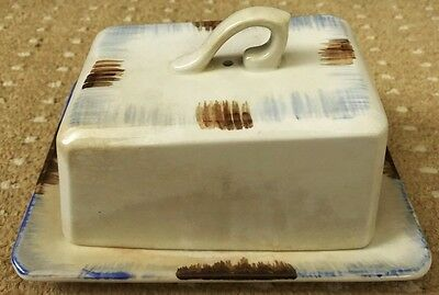 Butter Dish / Cheese Dish With Lid - FREEPOST