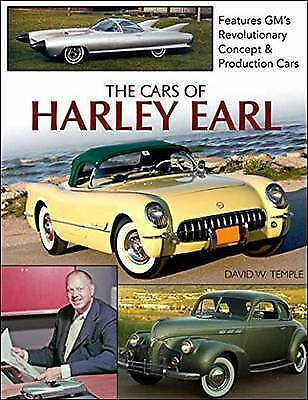 The Cars of Harley Earl by Temple, David -Hcover