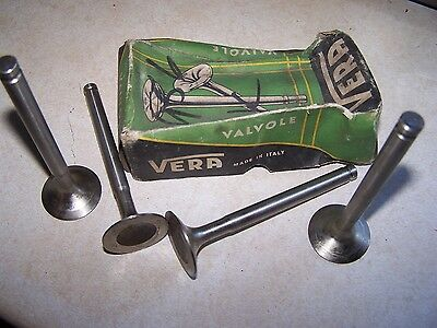 Alfa Giulietta Exhaust Valves 1959 thru 1962
