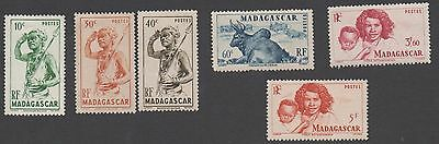 Madagascar stamps. 1946 Local Motives. MH
