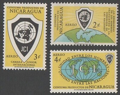 Nicaragua. 1961 Airmail - Junior Chamber of Commerce Congress. MH