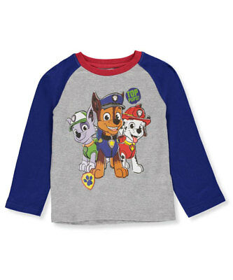 Paw Patrol Little Boys' Toddler L/S T-Shirt (Sizes 2T - 4T)