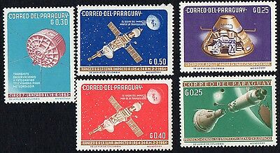 Paraguay.   1964 Space Travel.  MLH