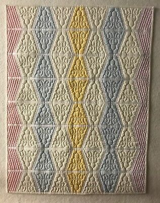 Modern Baby Quilt / Wall Hanging