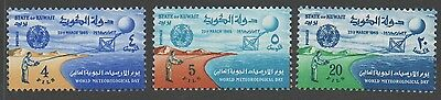Kuwait stamps.  1965 World Meteorological Day. MNH