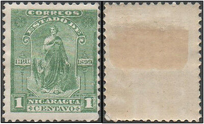 Nicaragua. 1899 Justice. MH