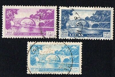 Lebanon. 1950 Bridges. Cancelled