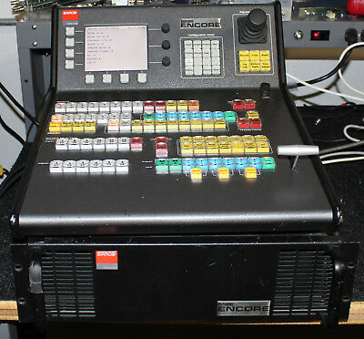 Barco Folsom Encore 3 ME  HD-SDI Switcher w small control panel HD-SDI output