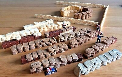 Rorke's Drift Defence - Mealie Bags Biscuit /Ammo Boxes Cattle Coral & Redoubt