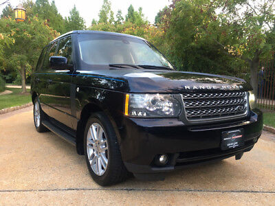 2010 Land Rover Range Rover HSE Sport Utility 4-Door low mile luxury free shipping warranty 4x4 clean carfax cheap