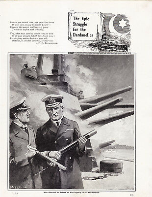 World War 1, Events By Sea and Air, 12 Pages