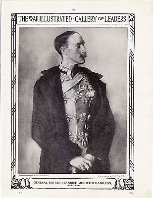 World War 1, General Sir Ian Standish Monteith Hamilton, 2 Pages