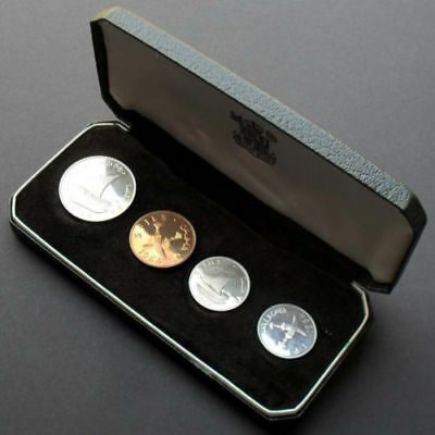 South Arabia (Yemen) 1964 4 coin Proof Set KM-PS1 low mintage rare! - US-Seller