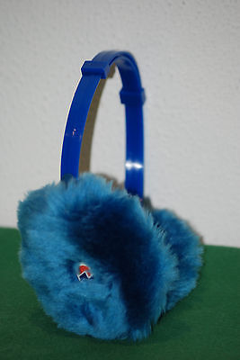 vintage invicta cuffy winter snowboard cold bag NOS earflap BLUE 80 90 deadstock