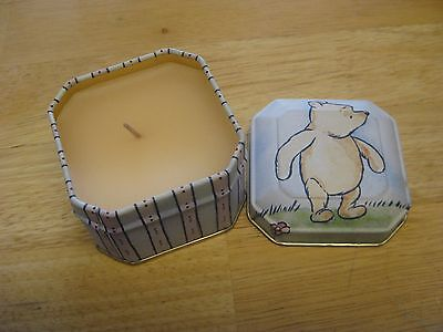 Disney Winnie the Pooh Scented Candle In Collector Tin