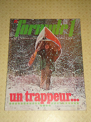 Magazine Formule 1 J2 1975 Poster Rc Narbonne Rugby Fiat Sport Voiture 1922