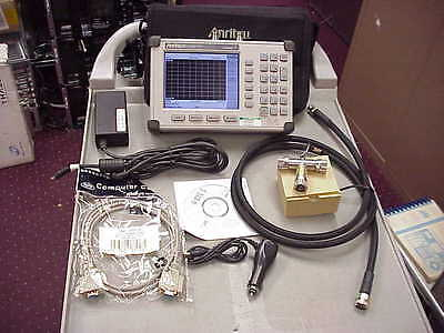 Anritsu S332D SiteMaster Cable & Antenna Site Master w/ Options 3/29-POWER METER
