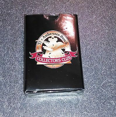 Anheuser Busch Collectors Club Playing Cards New